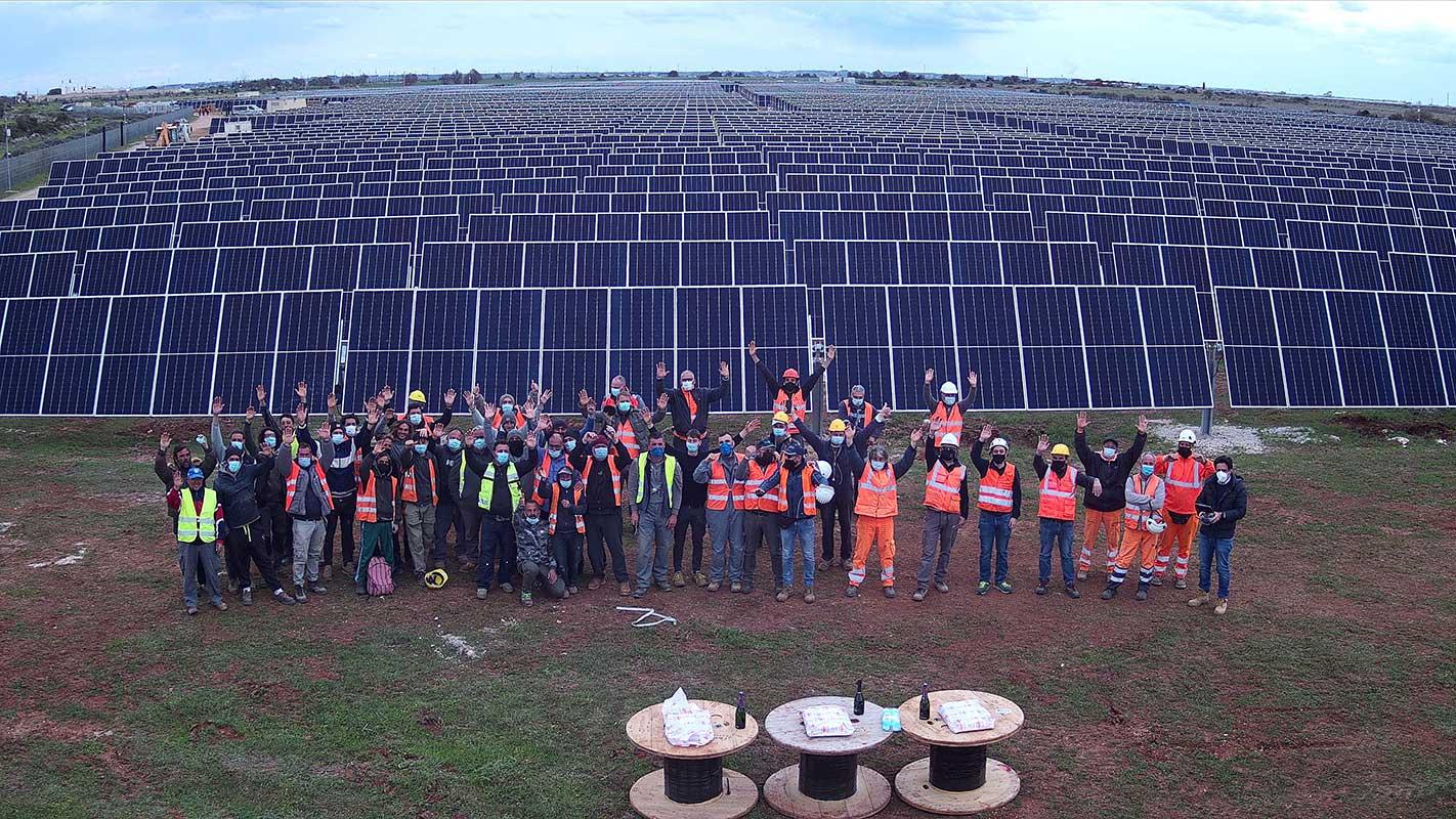 Revamping impianto fotovoltaico da record